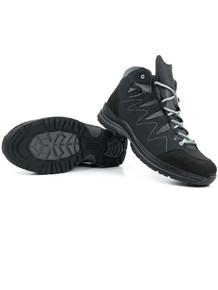 Wills Vegan Waterproof Walking Boots (Womens) - Grey