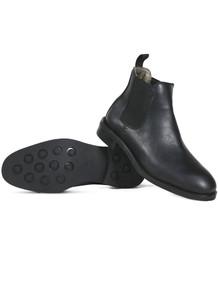 Wills Vegan Waterproof Chelsea Boots (Womens) - Black