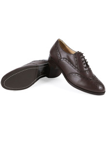 Oxford Brogues - Dark Brown v2
