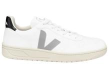 Veja V10 C.W.L. Vegan Trainer (Mens) - White / Oxford Grey / Black