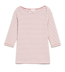 Dalenaa Stripes - Off White / Cinnamon Rose