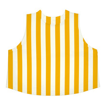 Dedicated Namsos Top - Big Stripes / Yellow