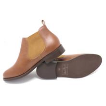 Acre Birch Vegan Ankle Boot - Chestnut