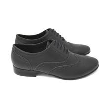 Acre Briar Brogue Vegan Shoe - Black
