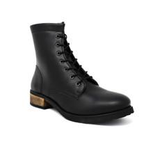 Acre Buckthorn Vegan Boot (side zip) - Black