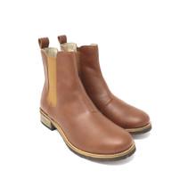 Acre Maple Vegan Chelsea Boot - Chestnut