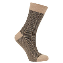 Herringbone Socks - Ink