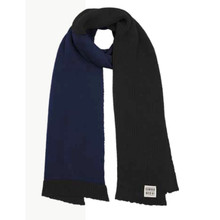 Eie Knitted Scarf - Black / Ink