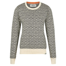 Tara Jumper - Off White & Black