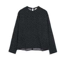 Amaalur Blouse Easy Dots - Black