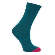 Punchy Socks - Teal