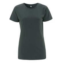 Organic T Shirt (Womens) - Dark Grey