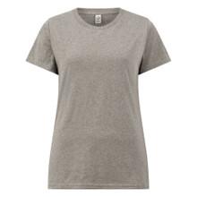Organic T Shirt (Womens) - Melange Grey