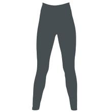 Organic Stretch Leggings (Womens) - Dark Grey