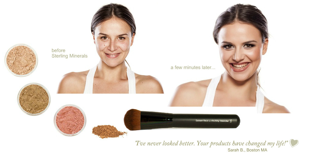 Mineral Makeup Before And After