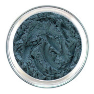 Loose mineral eye shadow in a sheer wash of Turquoise Blue reminiscent of a peacock feather in full display. This semi matte shade can be worn with more intensity depending on your application technique.  Use as eyeliner also.