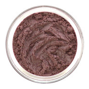 Loose mineral eye shadow a deep Maroon tone with soft shimmer, has a color shift interference to an iridescent teal green and gold shade. The color will change constantly. Breathtaking! Use as eyeliner also.