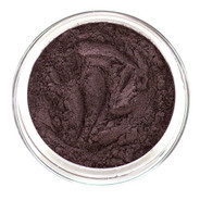 loose mineral eye shadow shade is a deep dark Eggplant with black undertone. Create definition for a gorgeous smoky look to the eye, semi matte and use as eyeliner