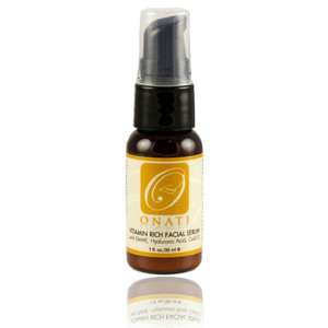 Vitamin Rich Facial Serum designed to enhance and support our entire line of organic, natural skincare formulas. Our serum is excellent for mature, dry, normal, sensitive, combination skin. This luxurious facial elixir stands alone as a light moisturizer for oily or acneic skin. This intensive serum helps fight the signs of aging and protects the skin from free radical damage through infusion of natural fruit acids, antioxidants, vitamins, and humectants.