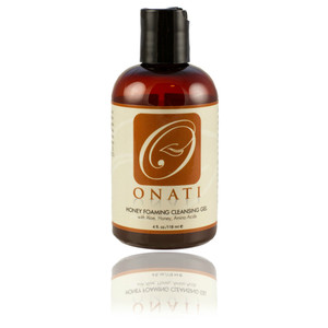 ONATI Honey Foaming Cleanser is perfect for sensitive, acneic, oily, normal, combination skin. Rich in amino acids for promoting skin health while alleviating skin irritations. This concentrated cleansing gel leaves your face soft and smooth, never dull or dry. Will remove all traces of dirt, grime, and makeup without stripping skin of its' natural oils.