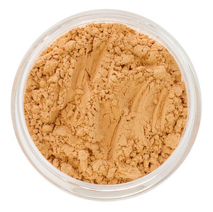 loose mineral foundation Amara shade for light to medium skin with soft yellow peach undertone 3 formulas for normal / dry / oily / combo / acne / sensitive skin