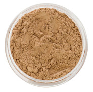 loose mineral foundation Viviana shade olive skin that leans pink neutral for light to medium skin tone 3 formulas for normal / dry / oily / combo / acne / sensitive skin