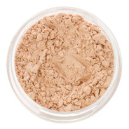 loose mineral foundation Fiorella shade fair to light skin tone with neutral, ivory, to pink overtone 3 formulas for normal / dry / oily / combo / acne / sensitive skin