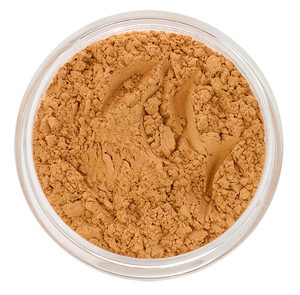 loose mineral foundation Sophie shade light to medium skin tone with golden peach undertone for latina or light skinned african american women 3 formulas for normal / dry / oily / combo / acne / sensitive skin