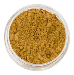 loose mineral foundation Xantha shade medium to deep skin tone possessing dominant yellow undertone and subtle olive overtone 3 formulas for normal / dry / oily / combo / acne / sensitive skin