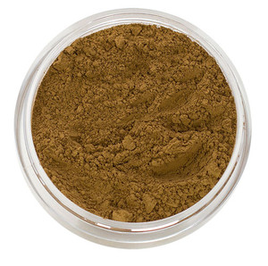 loose mineral foundation Olivia shade a deep classic olive with a hint of yellow for tan to dark skin tone and will brighten sallow skin 3 formulas for normal / dry / oily / combo / acne / sensitive skin
