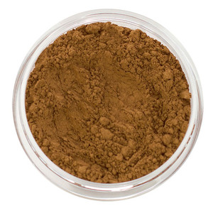 loose mineral foundation Keira shade tan to dark cool brown with skin that possesses deep red and dark golden undertones combined 3 formulas for normal / dry / oily / combo / acne / sensitive skin