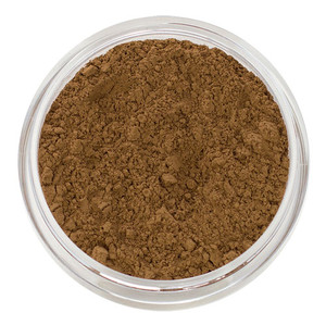 loose mineral foundation Adriana shade classic brown for sallow skin, darkest olive leaning cool neutral correcting sallow skin tone 3 formulas for normal / dry / oily / combo / acne / sensitive skin