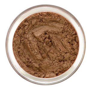 This beautiful eyeshadow is a subtle Bronze with a rose gold undertone.  It offers semi matte finish and is perfect for adding warmth to the eye and intensifying the crease if desired. Great as Eyeliner and bronzing enhancement to the face.