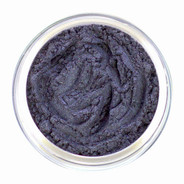 Loose mineral eyeshadow with reminiscence of the light of the silvery moon with this gorgeous shimmery shade. A deep, rich Silver with strong dark Blue undertone and a touch of sparkle. Use as eyeliner also.