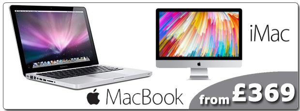 Refurbished Apple MacBooks and iMacs Carbon