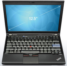 "Refurbished X220 Laptop Intel Core i5-2540M 2.60GHz Windows 7 Professional 12.5"" 1366x768 Wireless Grade B Webcam - PLEASE NOTE this image is of a US keyboard, we only supply UK keyboards"