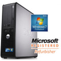 Refurbished Dell 760 SFF Dual Core E5200 2.50GHz DVD