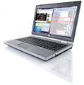 "HP EliteBook 2560p i5-2540M 2.60GHz Webcam  12.5"" Marks on lid"