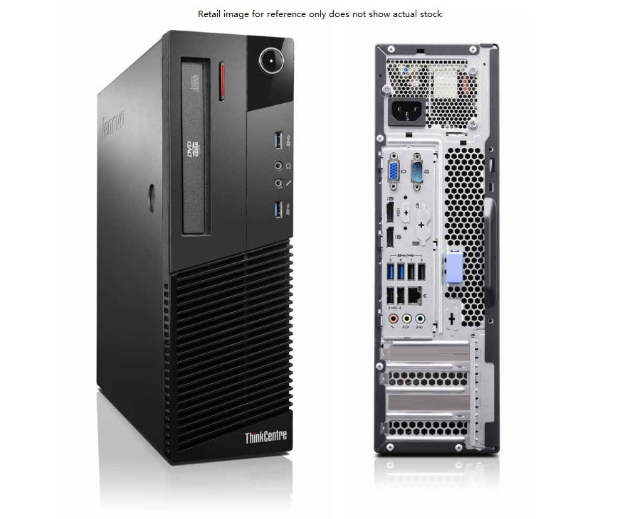 Refurbished Lenovo ThinkCentre M83 Small form factor i5-4430 3 00GHz