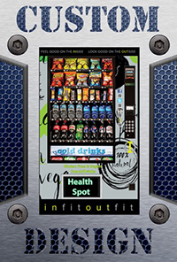 Custom Vending Machine Fronts