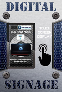 Vending Machine Digital Signage