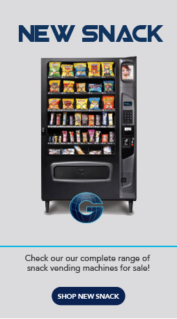 New Snack Vending Machines