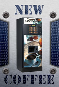 New Coffee Vending Machines