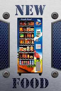 New Food Vending Machines