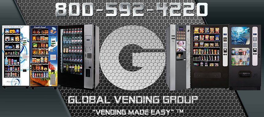 Vending Machines for Sale  Snack and Soda Machines  Global Vending Group