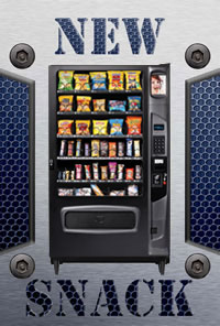 Seaga Infinity 5S Snack Vending Machine - New