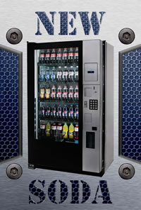 New Soda Vending Machines