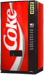 Dixie Narco DN600E Coke Machine - Refurbished