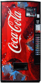 Dixie Narco DN501E Coke Machine - Refurbished