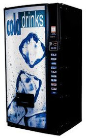 Royal Vendors RVCDE 542 Soda Machine - New